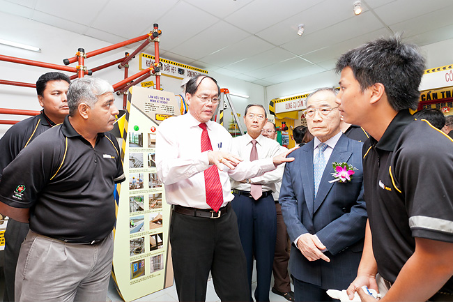 Opening the Safety Awareness Centre